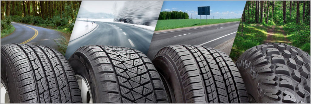 Different Type of Tires