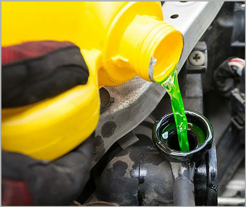 Keep Extra Coolants in the Car