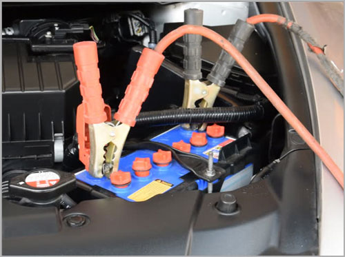 Keep Jumper Cables in the Car